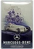 Nostalgic-Art Retro Blechschild, Mercedes-Benz – Silver