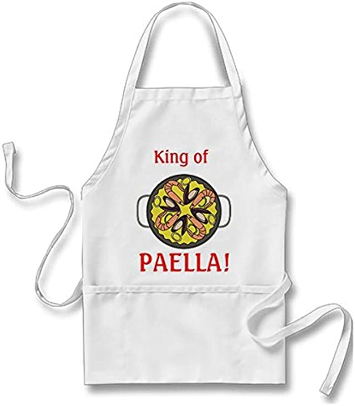 King Of Paella For Men Women With Pockets