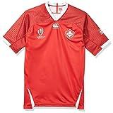 Canterbury Maillot de Rugby Pro Canada Domicile, Coupe du Monde RWC 2019 - Rouge - Taille L