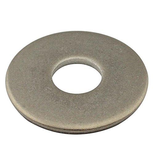 Große Unterlegscheiben - M5 - ( 50 Stück ) - Beilagscheiben - DIN 9021 Form A / ISO 7093 - Edelstahl A2 (V2A) - SC9021 | SC-Normteile