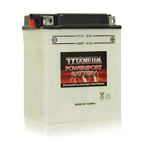 TYTANEUM High Performance Flooded Battery YB14A-A2 Compatible With Honda 200CC ATC200 Big Red 1982-1984