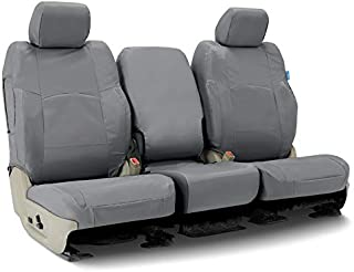 Coverking CSC1E4FD10014 Custom Seat Covers ((1 Row) Cordura/Ballistic Charcoal for Select 2017 to 2018 Ford Truck F-250, 350 (Super Duty) Models)