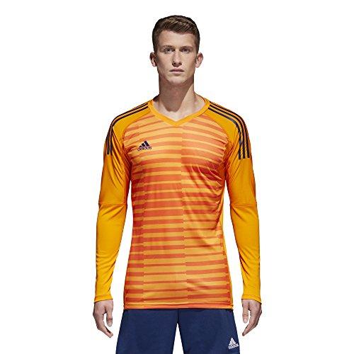adidas AdiPro 18 Goalkeeping Jersey (Lucky Orange/Orange/Unity Ink, XL)