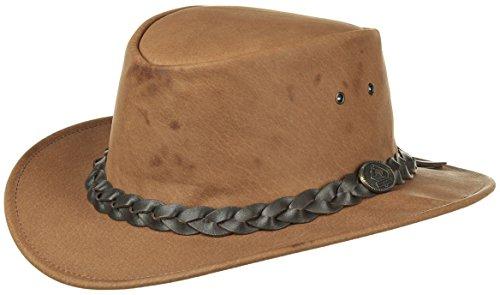 Chapeau en Cuir Urban Scippis chapeaux pour homme (M/56-57 - marron)
