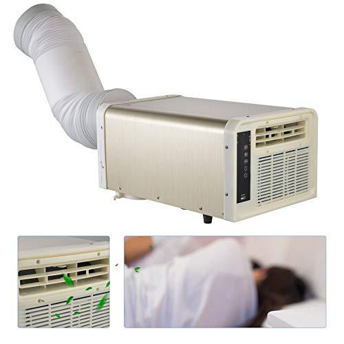 Ventilador de aire acondicionado, mini aire acondicionado portátil, enfriador de aire evaporativo caja de hielo con filtro lavable para espacios pequeños, súper conveniencia para oficina, hogar