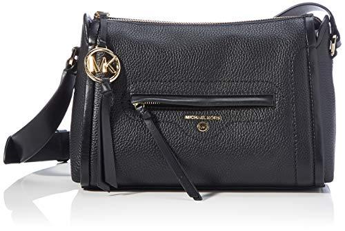 Michael Kors Carine Leather Crossbody Bag, Black