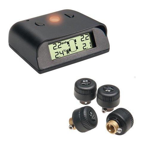 Profi Funk Reifendruck Kontrollsystem 0–4,5bar Kontrolle über Luftdruck und Temperatur