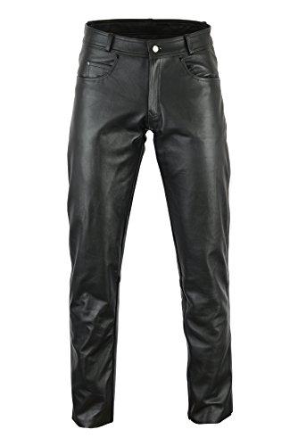 Bikers Gear Australia Damen Hose schwarz Schwarz m