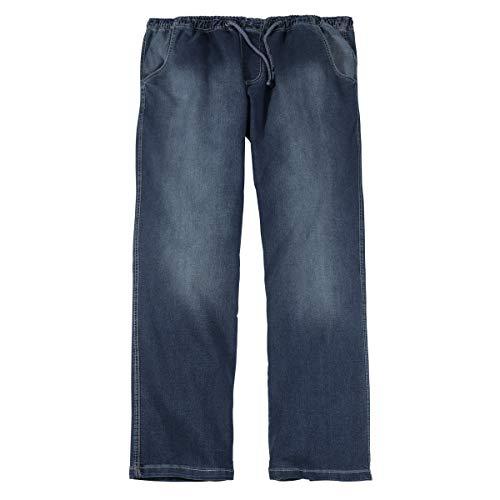 Abraxas XXL Jeans-Hose mit Gummibund Stone-wash, XL Größe:5XL