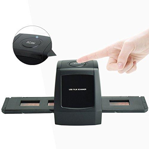 DIGITNOW!Film Scanner Convert 35mm/135 Negatives and Slides to Digital Format,Support XP/Vista/Windows7 .8.10(Not Support Mac)
