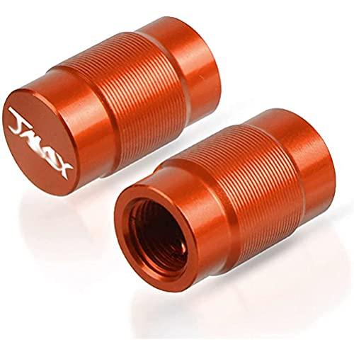 2 Piezas Tapas para VáLvulas de AleacióN Aluminio de Moto compatible con Tmax 530 2012-2015 TMAX 500 2008-2011 2013 2014 2008 2010, Anti CorrosióN Cubierta de La VáLvula NeumáTico para Evitar Fugas