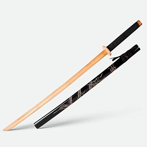 WXXT Katana bokken Katana Japonesa Espada Accesorios,Juguetes,Espada de Demonio Asesino,Accesorios de Arma,Espada de Madera,Espada,104 cm