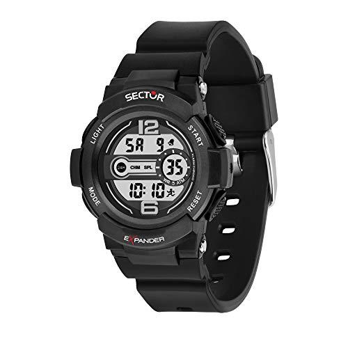 SECTOR NO LIMITS Reloj Unisex Adultos de Digital con Correa en Plástico R3251525001