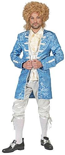 Barock Kostüm Johann mit Gehrock für Herren - Gr. 56 58