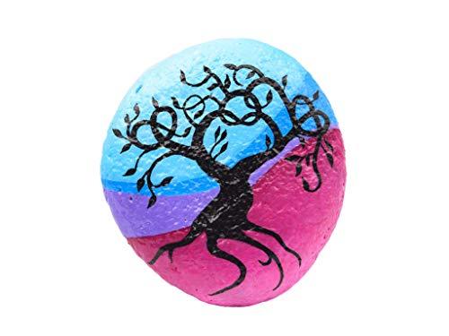 Árbol de la Vida, Piedra Pintada a Mano