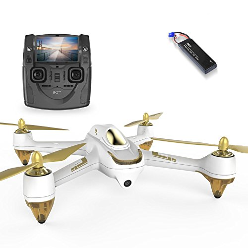 HUBSAN H501SS X4 GPS FPV Drone 5.8GHz Transmitter 1080P HD Camera Brushless Motor Quadcopter (White)