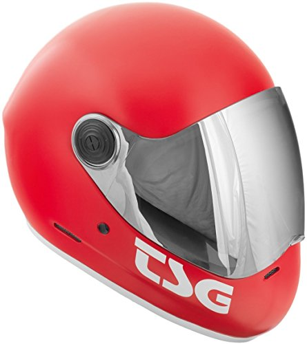 TSG Pass Helmet - Red, Medium