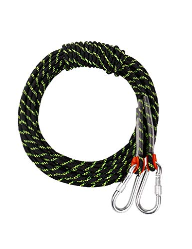 LLluckyHW Cuerda Artesanal Multifuncional, Cuerda de Nylon Engrosada, Adecuada for la decoración del hogar en Bote, Perchas Hechas a Mano, exploración, Camping (Color : C30M)