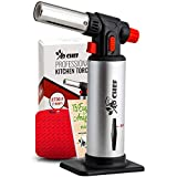Kitchen Torch, Blow Torch - Refillable Butane Torch With...
