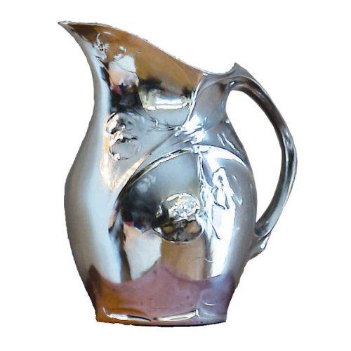 Artina 11873 Wasserkrug Jugendstil, Zinn