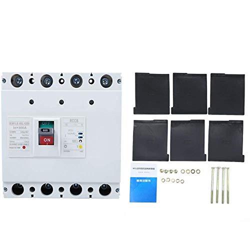 ZYL-YL Interruptor de Circuito 800V 800A actual, Circuit Breaker 3P + N Protección de fuga, 50 / 60Hz interruptor del disyuntor de aire Interruptor de fuga