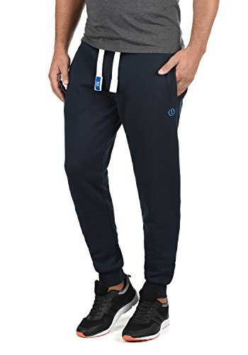 !Solid BennPant Herren Sweatpants Jogginghose Sporthose mit Fleece-Innenseite und Kordel Regular Fit, Größe:L, Farbe:Insignia Blue (1991)