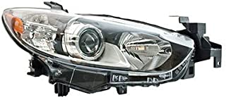 CarLights360: Fits 2014 2015 2016 Mazda 6 Headlight Assembly Passenger Side (Right) CAPA Certified - Replacement for MA2519160