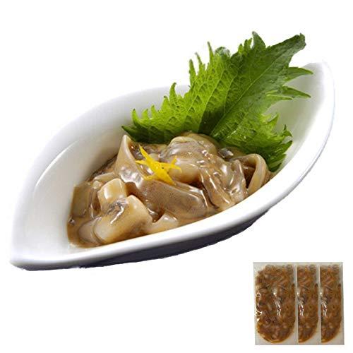 お中元 ギフト イカゲソの塩辛60g×3P*14時までのご注文 ヤマキ食品 イカ屋荘三郎