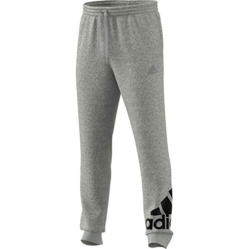 adidas GK8978 M BL FT PT Pantaloni Sportivi Uomo Medium Grey Heather/Black M