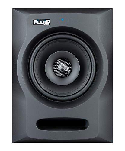 Fluid Audio FX50 Professioneller Aktiv Studiomonitor Lautsprecher für Musikproduktion - für Produzenten, DJs und Musiker – Schwarz
