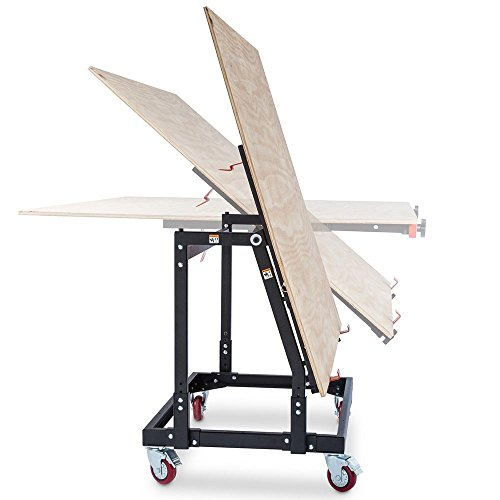 Rockler Material Mate Panel Cart and Shop Stand