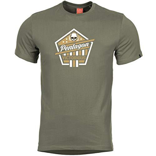 Pentagon T-Shirt Ageron Victorious Oliv, M, Oliv