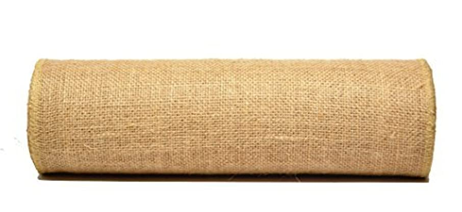 Firefly Craft Burlap NO FRAY Fabric, 15 Inches by 10 yards