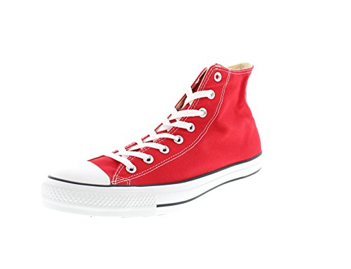 Chuck Taylor All Star Canvas High Top, Red, 12