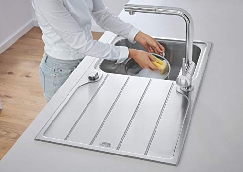 Grohe – Minta Küchenarmatur mit herausziehbarem Auslauf, L-Size, Chrom - 5