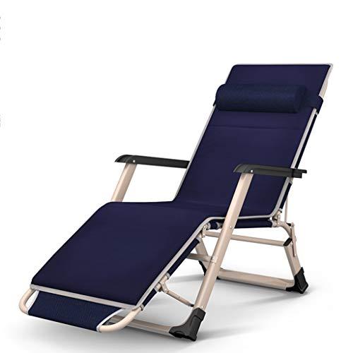 ZYX KFXL liegestuhl Klappstuhl, Klappsessel, Liegestuhl Strandterrasse Gartencamping Im Freien 200 Kg Kapazität Schwerelosigkeit Klappstuhl (Size : 2)