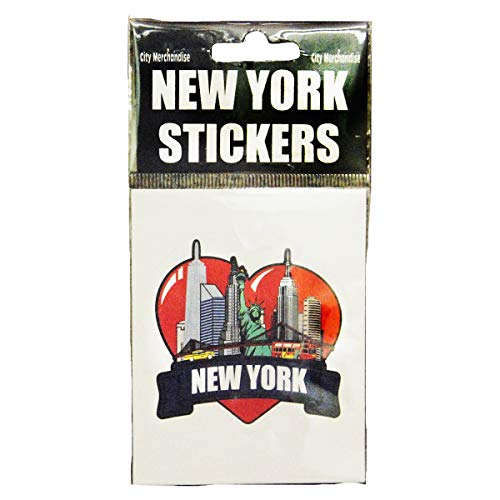 meaningful gifts Sinnvolle Geschenke Love New York City Skyline Souvenir Statue of Liberty Symbol of Excellence Sticker