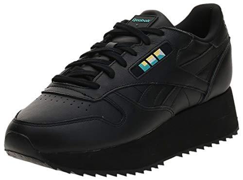 Reebok Classic Leather Double Mujer Zapatillas Negro
