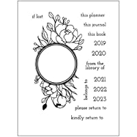 friendsty クリアスタンプ、花DIYシリコンクリアスタンプしがみつくシールスクラップブックエンボスアルバムの装飾