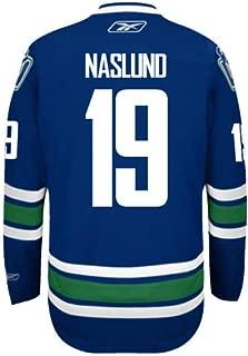 Markus Naslund Vancouver Canucks NHL Men's Blue Name & Number Player #19 Jersey