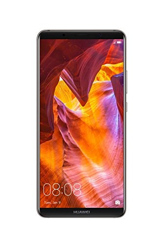 Huawei Mate 10 Pro Unlocked Phone, 6' 6GB/128GB, AI Processor, Dual Leica Camera, Water Resistant IP67, GSM Only - Titanium Gray (US Warranty)