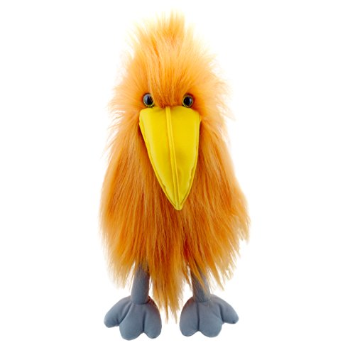 The Puppet Company Bunter Vogel Handpuppe, Orange, PC003122