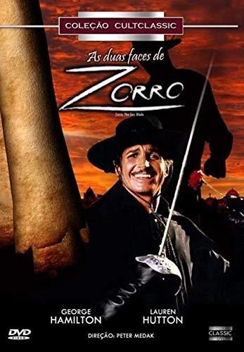 Dvd As Duas Faces de Zorro - George Hamilton