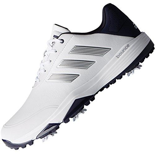 adidas Herren Adipower Bounce WD Golfschuhe, Weiß (White F33782), 44 2/3 EU