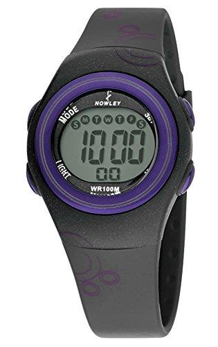Reloj NOWLEY Digital señora Correa de Caucho Negro 8-6187-0-4