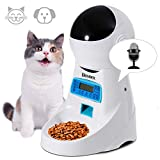 Homdox Automatic Cat Feeder Pet Food Dispenser for Cat Dog, Auto Cat...