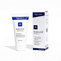 Rejuvaskin RejuvaSil Silicone Scar Gel – Improves the Appearance of Scars – Physician Recommended
