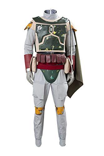dolass Disfraz de Boba Fett para adulto, disfraz de Halloween