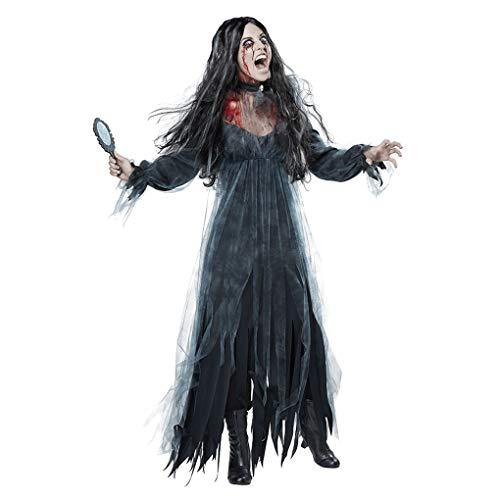 Yujum Horror Mujeres Cosplay Halloween Novia del Zombi del Fantasma Muerto cadáver Vestido de la Novia del Zombi