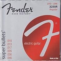 Fender 3250R Super Bullet ニッケルスティール弦 Regular(10-46) フェンダー エレキギター弦【国内正規品】